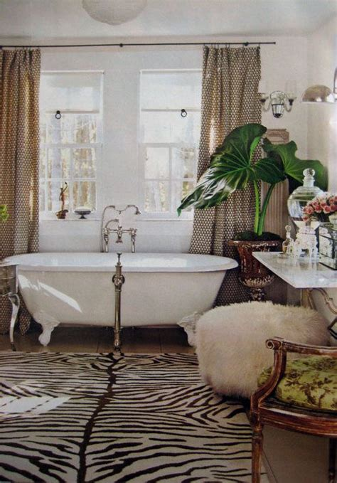 Animal Print Bathroom Ideas Animal Print Interior Decor For A Look Of Your Home