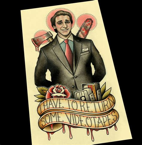 american psycho tattoo best 25 american psycho quotes ideas on