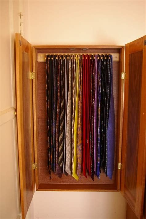 Tie Cabinet 17 best images about tie storage ideas on cupboards a button and tie storage
