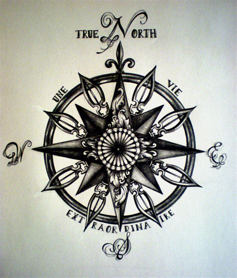compass tattoo phrase true north compass tattoo by desertdahlia on deviantart