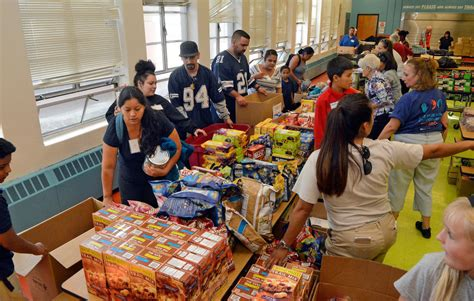 Lowell Food Pantry by Food Bank Widens Efforts To Feed Hungry Children