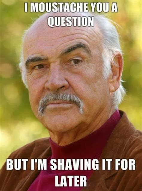 Meme With Mustache - movember mustache jokes funny joke pictures