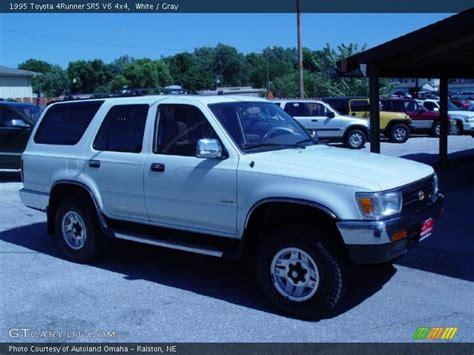 1995 Toyota 4runner Sr5 V6 1995 Toyota 4runner Sr5 V6 4x4 In White Photo No 36334138