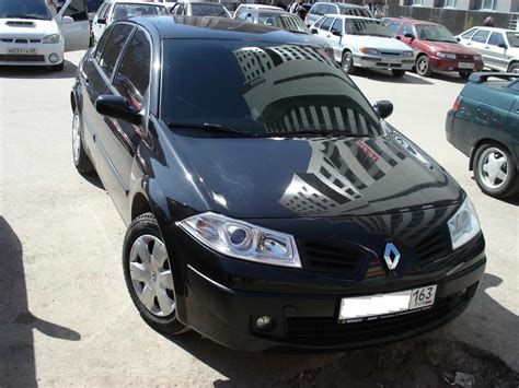 renault sedan 2006 2006 renault megane ii sport sedan 1 9 dci related