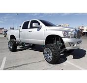 Lifted Silver Dodge Ram 2500 Truck  Pickups Pinterest