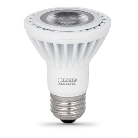 Led Can Light Bulbs by 500 Lumen Replacement 5000k Dimmable Led Par20 Feit Electric