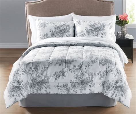 walmart bed in a bag twin mainstays 5 piece floral twin bed in a bag walmart ca