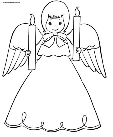 angel coloring pages for preschool pictures of angels to color christmas angels coloring