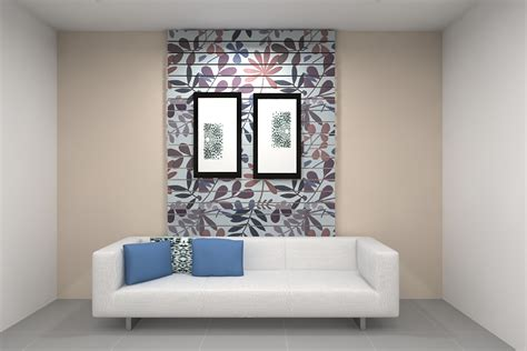new shades wallpaper sofa background at home design
