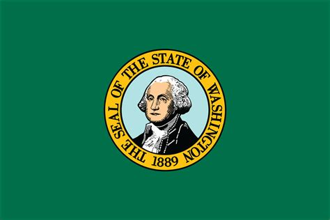 state colors washington state flag flagnations