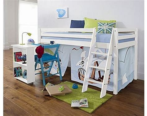 Childrens Cabin Beds White Cabin Bed With Desk