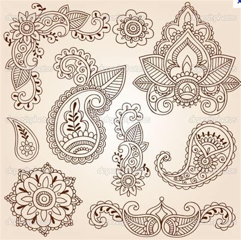 paisley doodle ideas motifs paisley motifs henna mehndi