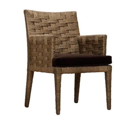 rope arm chair indoor furniture the wicker works