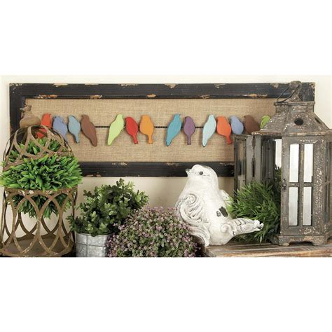 home depot wall decor 38 in x 12 in rustic charms birds on wire wall decor in