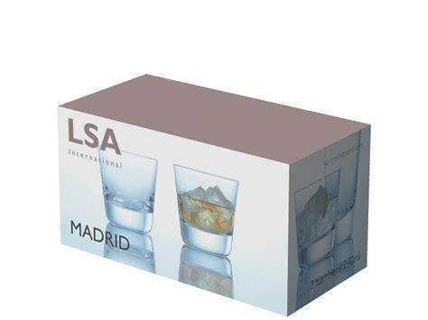 Box Lsa Lsa International Collection Boris Set 2 Tumblers Liqueur