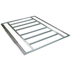 Floor For Metal Shed by Shop Arrow 3 98 Ft X 8 27 Ft Metal Storage Shed Floor Kit