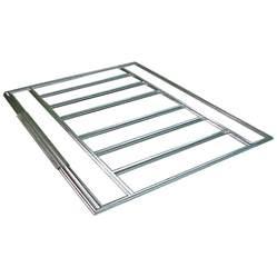 Metal Shed Base Kit shop arrow 3 98 ft x 8 27 ft metal storage shed floor kit