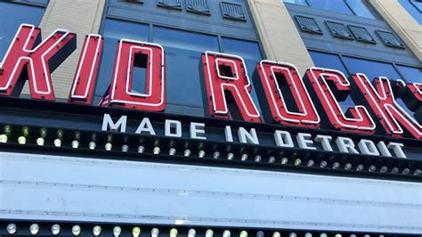 kid rock made in detroit kid rock s made in detroit restaurant at little caesars