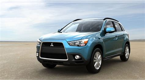 mitsubishi asx compact suv 2010 pictures by car