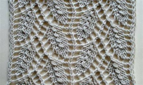 willow knit willow leaf an estonian lace pattern knit