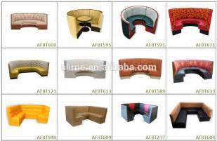 Alime round booth seating curved banquette seat buy round booth