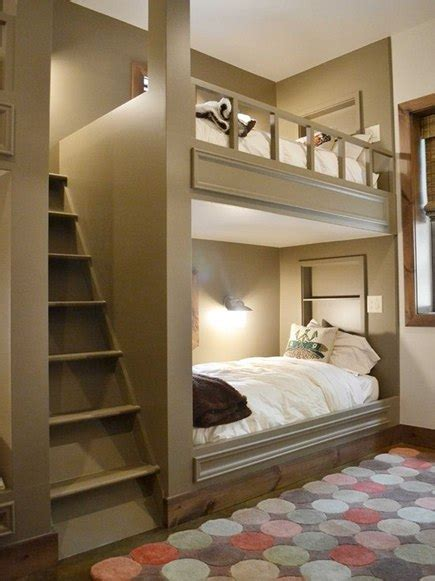 Built In Bunk Beds Built In Bunk Beds Plans Bed Plans Diy Blueprints