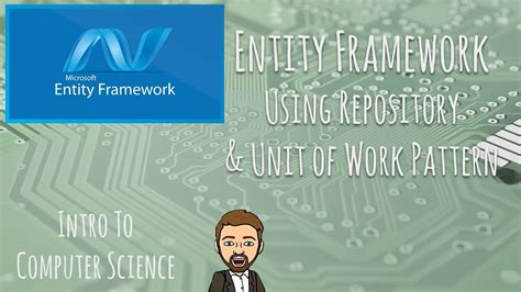repository pattern c youtube entity framework using repository unit of work pattern