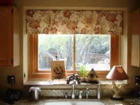 Kitchen Window Valance Ideas Small Kitchen Window Treatments Decor Ideasdecor Ideas