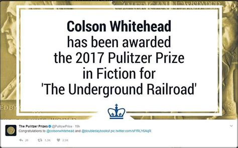 pulitzer prize biography winners list colson whitehead wins 2017 pulitzer prize for fiction