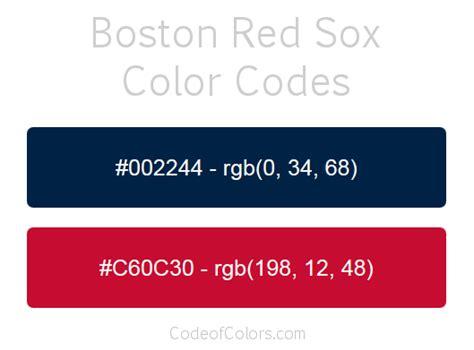 boston sox colors boston sox colors hex and rgb color codes