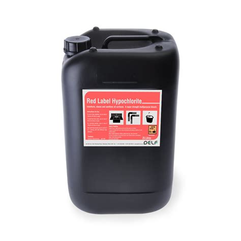 hypochlorite solution red label ltr