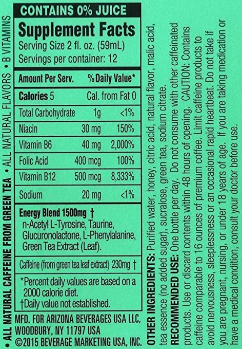 arizona iced tea facts aboutube arizona iced tea nutrition facts dandk