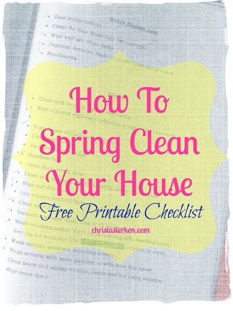 how to spring clean your house pinterest discover and save creative ideas