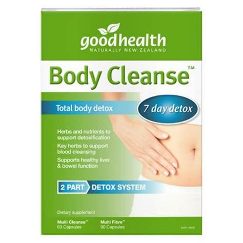 Best Detox Cleanse For Health by Buy Health Cleanse Total Detox Kit