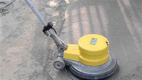 monospazzole per pavimenti lisciatura di massetti in calcestruzzo monospazzola