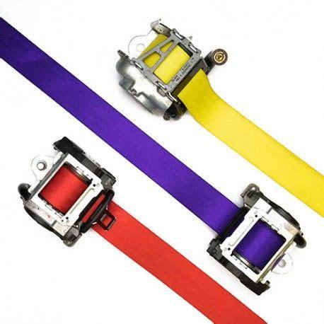 custom color custom color seat belt webbing replacement yellow