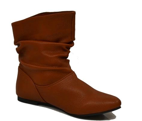 womens slouch boots womens slouch ankle boots booties flats pull on winter