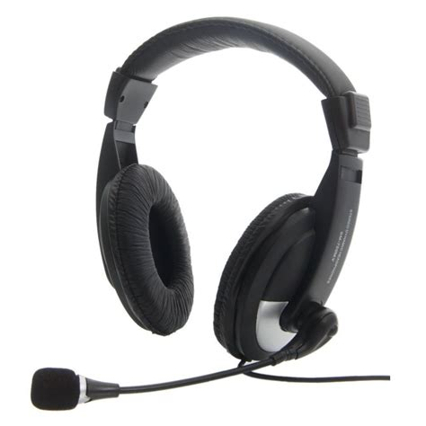 Headset For Pc 3 5mm headset headphones with microphone mic for computer pc gaming stereo skype ebay