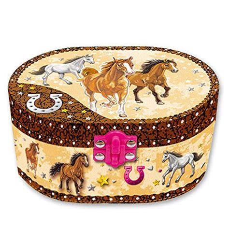 Souvenir Box Oval Lengkung Tema Pony Equine Jewelry Equine Gift