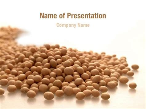 soy templates soy beans powerpoint templates soy beans powerpoint