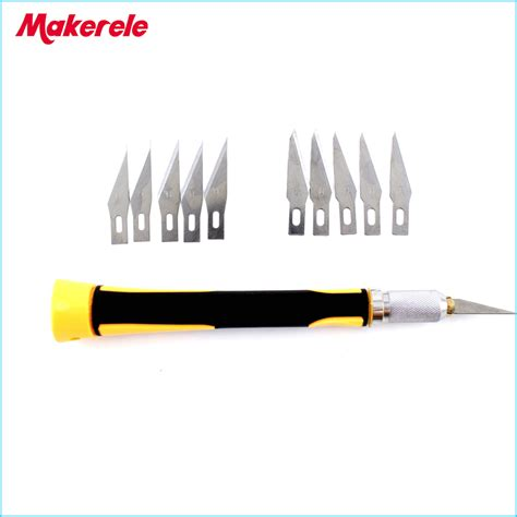 Pisau Cutter Acrylic 7 Pcs Hobby Knife Set buy grosir karet pisau pemotong from china karet