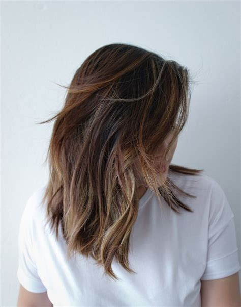 brown sombre medium hair style 35 soft subtle and sophisticated sombre hair color ideas