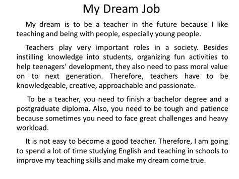 My Dream Job Ppt Video Online Download My College Dreams Are Finally Coming True And I Graduated Two Decades Ago