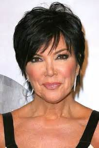 kris jenner hair color cabello sobre 50 cortes de pelo en capas cortas and