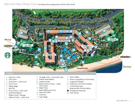 marriott maui ocean club floor plan tug marriott s maui ocean club lahaina and napili villas