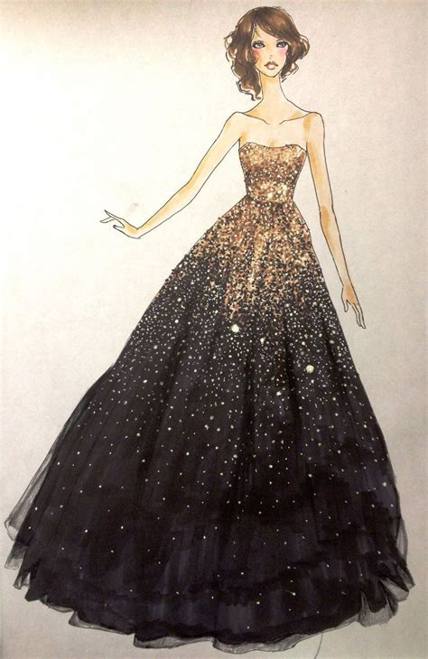 fashion illustration of gowns fashion design dress sketches search fashionista dress sketches prom