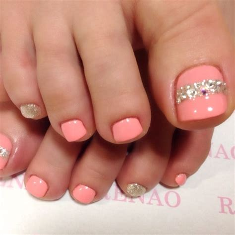 coral color nails best 25 coral toes ideas on coral toe nails