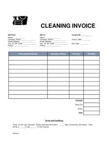 house cleaning invoice template house cleaning invoice template free house cleaning free
