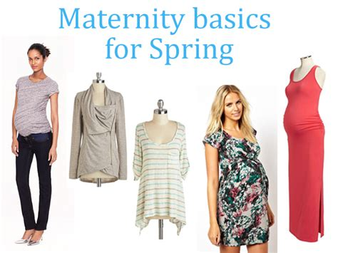 maternity wardrobe basics for don t leave home