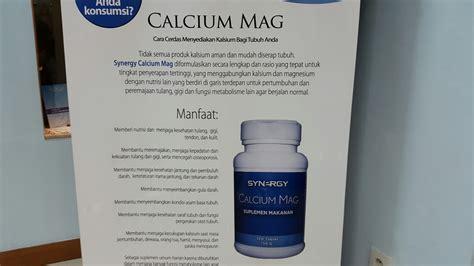 Harga Detox Your by Harga Dan Manfaat Calcium Mag Synergy Smart Detox